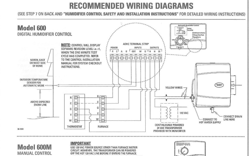 wiring diagram for aire the wiring diagram humidifier wiring hvac diy chatroom home improvement forum wiring diagram