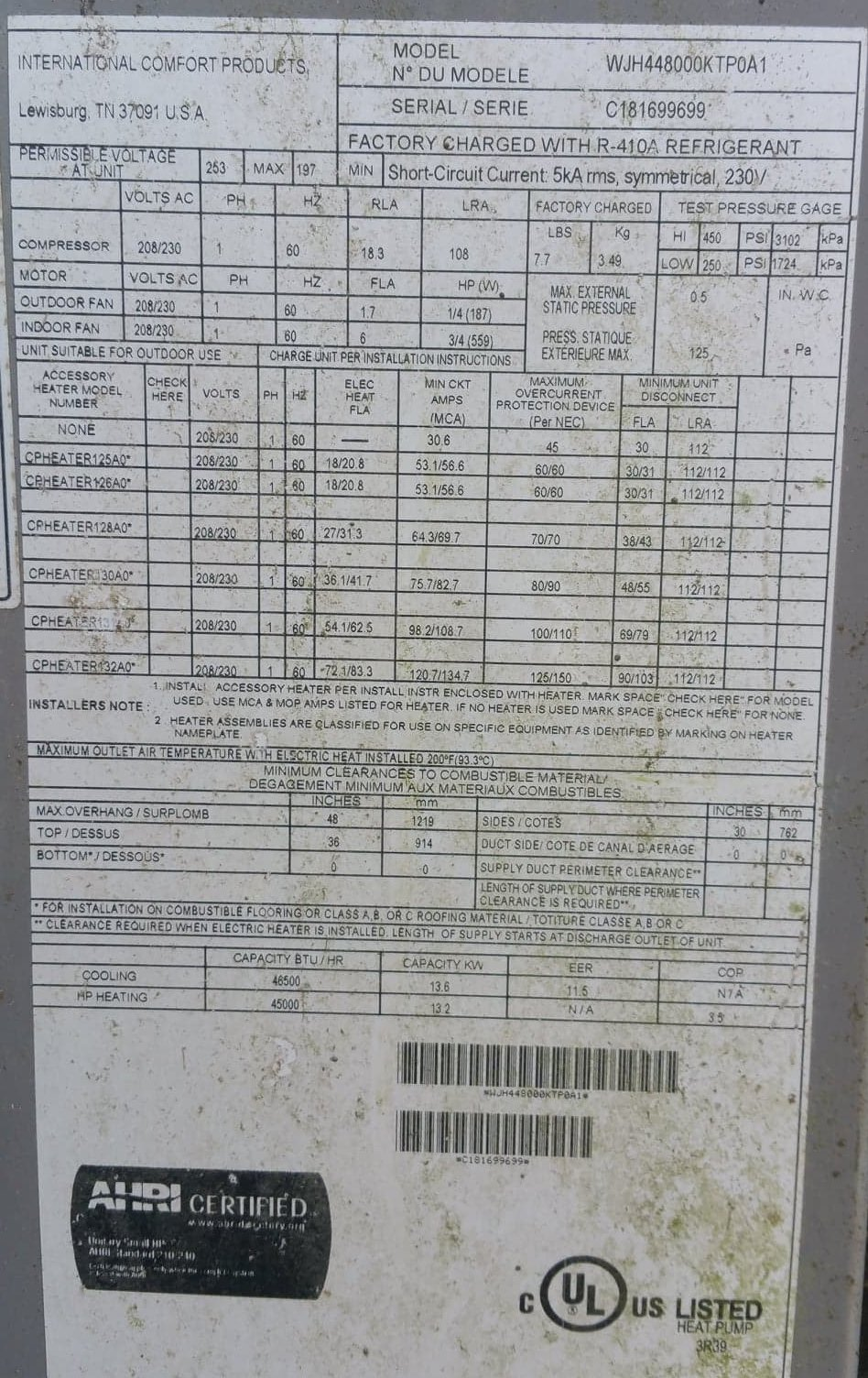 AC Unit WJH44800KTP0A1 Blows Air, Neither Hot Nor Cold-ac-1.jpg