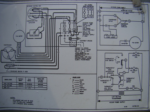 How To Replace Condensor Fan Motor Hvac Diy Chatroom Home. How To Replace Condensor Fan Motoracunitwiringschematic. Wiring. Trane Condenser Unit Wiring Diagram At Scoala.co