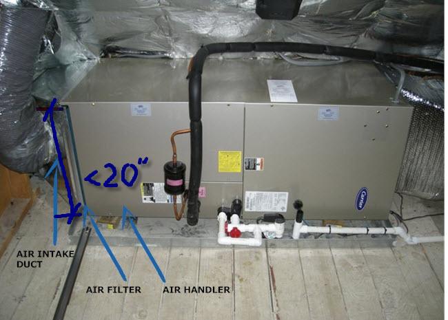 rheem air handler  4 0 ton rheem rh1t high efficiency air