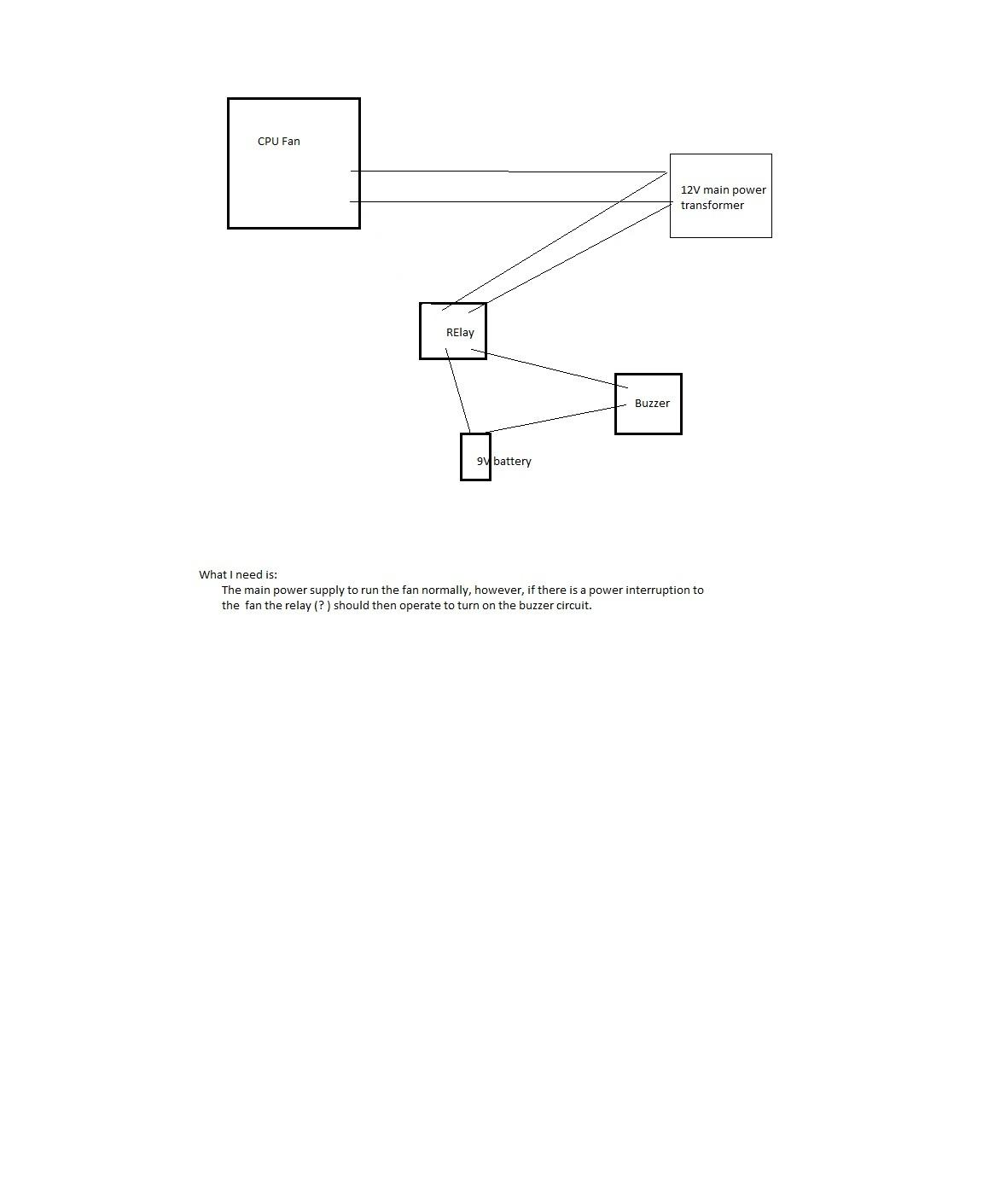 23386d1280801036 12v power supply failure alarm alarm circuit 12v power supply failure alarm electrical diy chatroom home