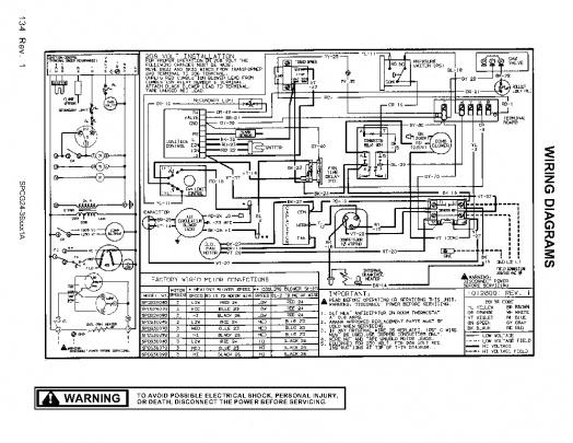Amana SPCG300901A Ignition Control Board Bypass-amana-spcg24-36xx1a-scematic.jpg