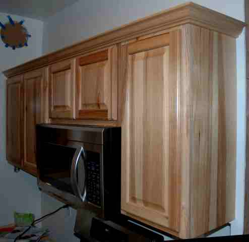Now the fun part! Crown molding on cabinets round II-anglerun112.jpg