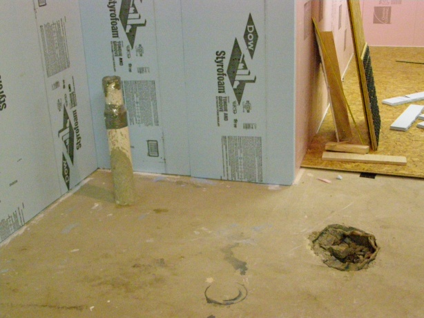 ... Basement Bathroom Rough In   Framing Questions Another Toilet  Shower Drain.