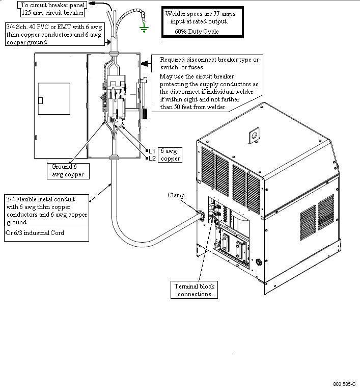 miller welder generator wiring diagram 240 outlet