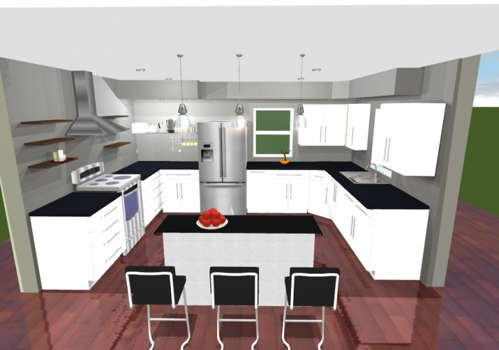 Bad Kitchen Design? Pic Arcade Sketch 1