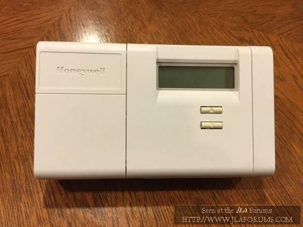 Late 90s Honeywell Thermostat:if LoBat Won't Clear, Put