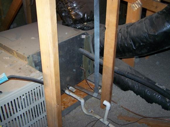 Leaking air from lennox handler/furnace-attic-001.jpg