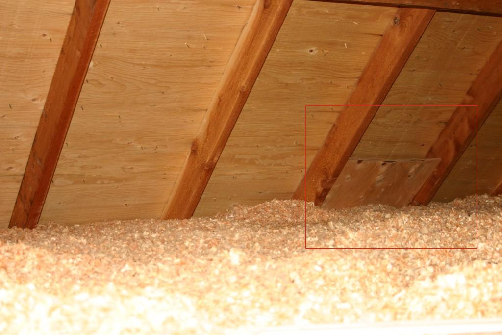 Insulating Attic Topping Up Install Help Building