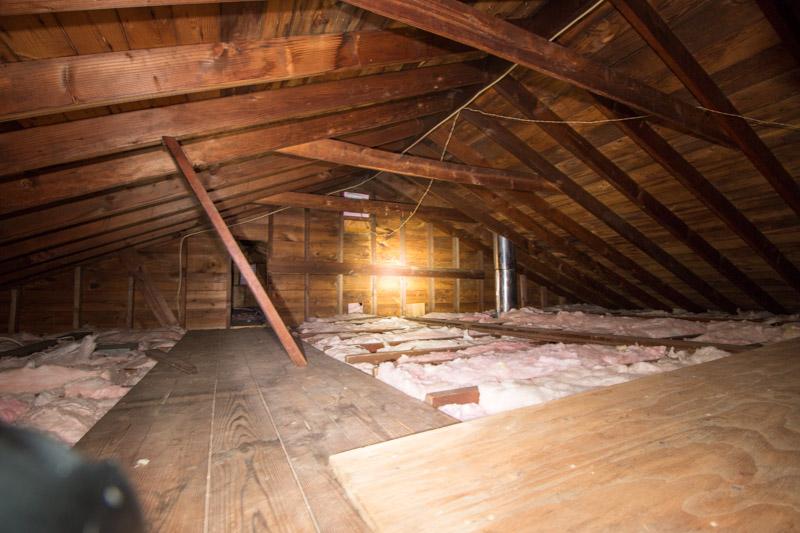 Split Level opening walls, raising ceiling, ideas on ascetics?-attic-9.jpg