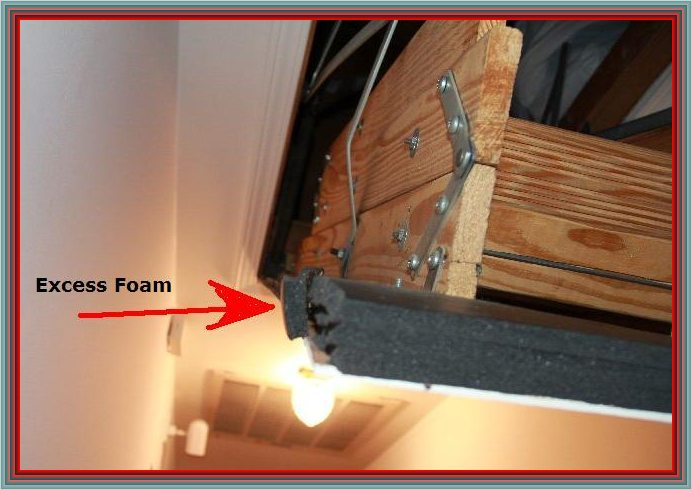 How would I fix this? Bent attic door [PICTURES]-attic-door & How Would I Fix This? Bent Attic Door [PICTURES] - Carpentry - DIY ...