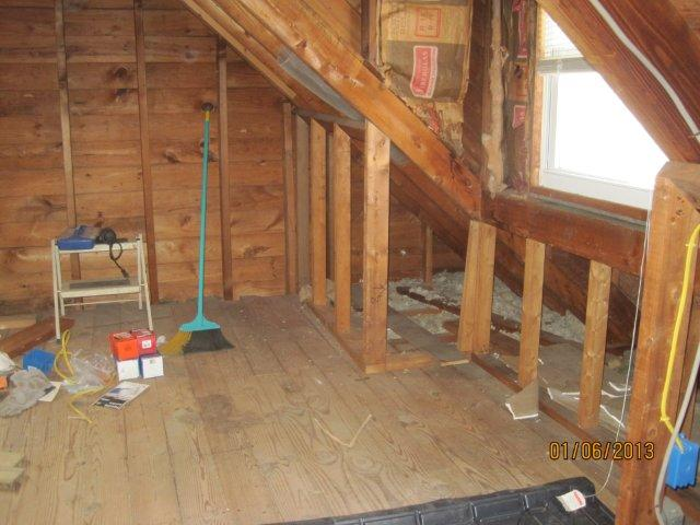 Insulation Quandary (knee Walls With Photo) - Insulation - DIY ...