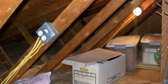 Wiring Protection For Accessible Attic Electrical Diy