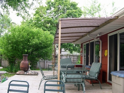 Canopy For Deck Building Amp Construction Diy Chatroom
