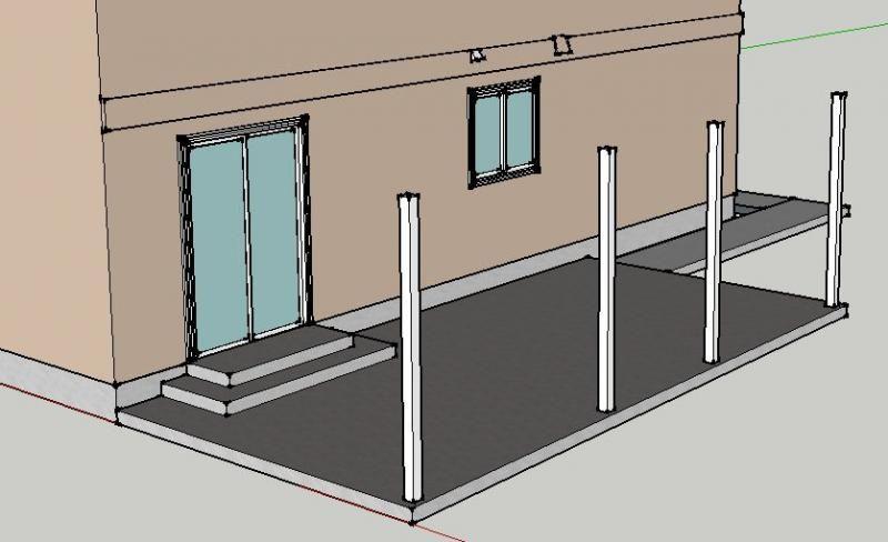 Backyard Awning Design : Diy Patio Awning Deck Awnings On Pinterest Retractable Awning