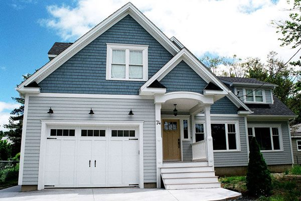 Exterior Gable Trim exterior gable trim roof traditional with garage door intended