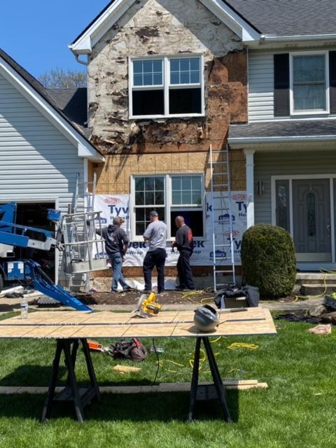 Help  Bad Window Install Or Stone Veneer Problem