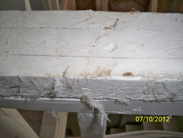 Smoke remediation water based primer how do I know?-babbitt-kilz-close-up-stud-fuzz-stuck-paint.jpg