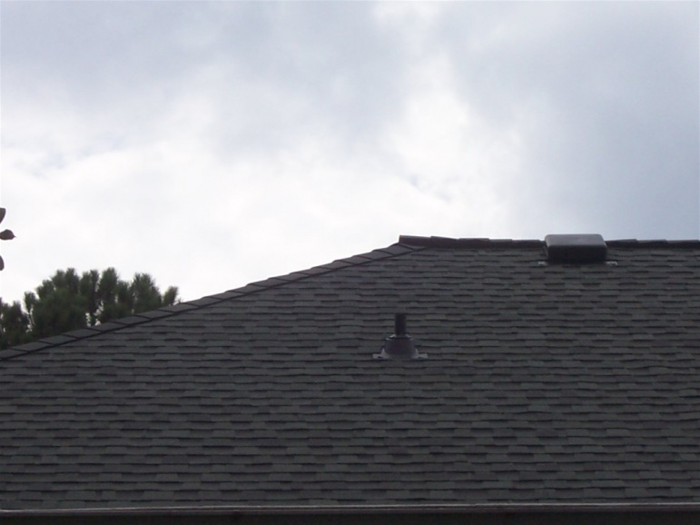 Ridge Vent Installation On A Hip Roof Roofing Siding
