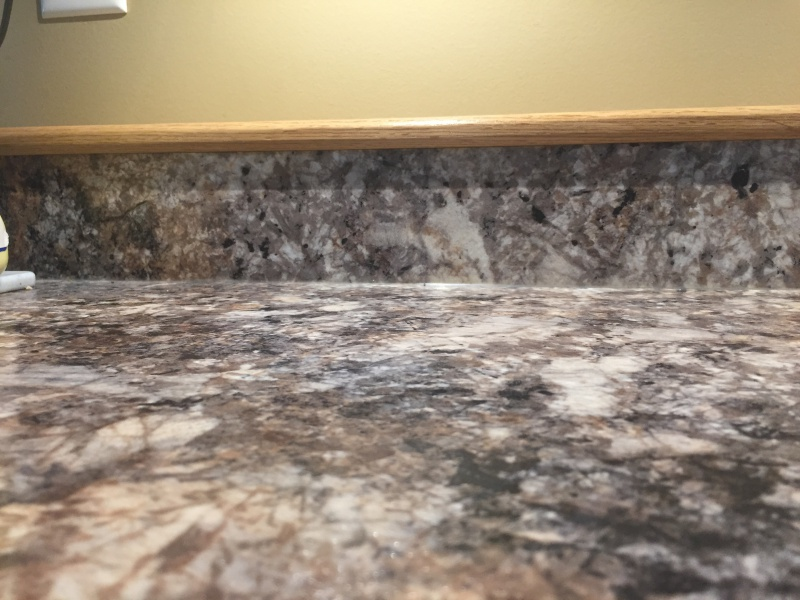 How To Cut Integrated Laminate Backsplash How To Guides