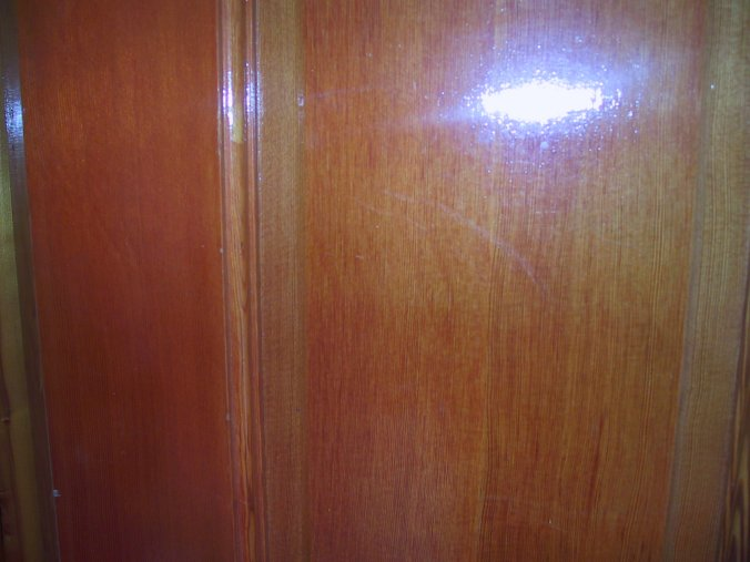 What kind of wood and stain is this?-backdoorclose.jpg