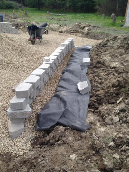 Landscape/Hardscape Project for WET Backyard-backfill-retaining-walls.jpg