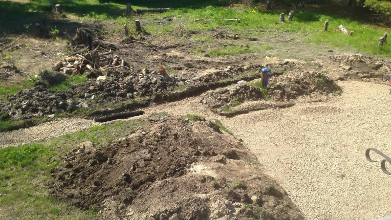 Landscape/Hardscape Project for WET Backyard-backfilling-pipe.jpg