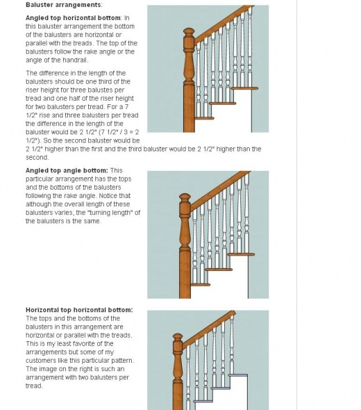 Need Some Advice On Stair Balusters And Railing Baluster Arrangement