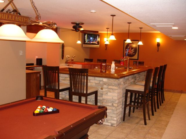 Basement bar ideas interior decorating diy chatroom home improvement forum - Bars for your home ...