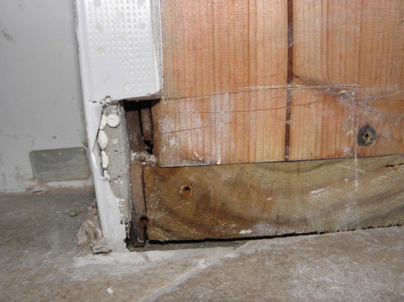 Water issue in bathroom at base of the tub and shower plumbing wall-base-narrow-wall.jpg