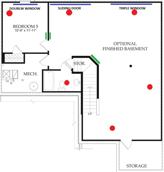 basement finish hvac plan review - hvac