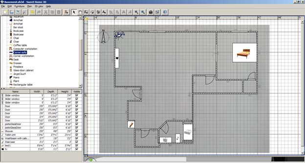 Free 3d design software general diy discussions diy for Basement remodeling software