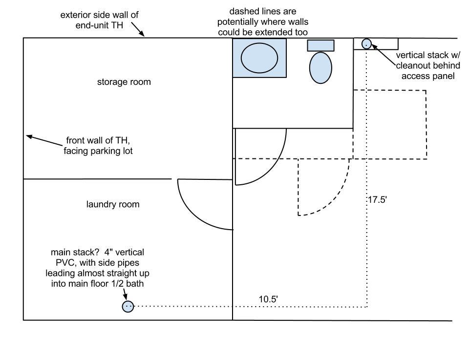 access panel preventing basement bath conversion?-basement-plumbing.jpg