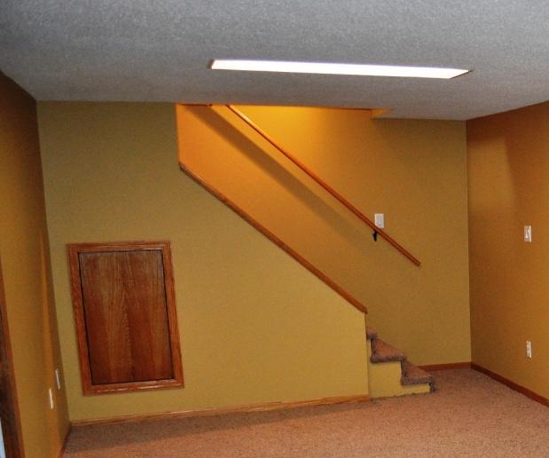 Basement Stairs Railing. Stair Rail Help Basement Stair Basement Stairs  Railing