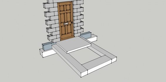 Need to rebuild outside steps and walls coming from basement-basement-stairs-2.jpg
