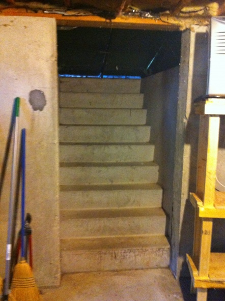New Door At Bottom Of Bulkhead Stairs   Building U0026 Construction   DIY MH73