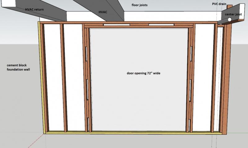Framing Partition Wall : Framing partition wall frameswalls