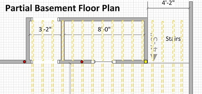 Floor joist too high in the middle of the room-basement-wall.jpg