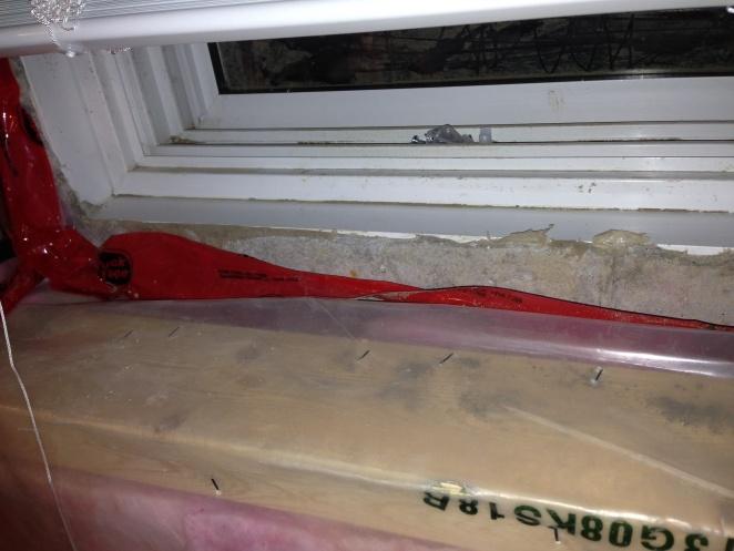 Vapour Barrier At Basement Window Help Basement Window 2  ...