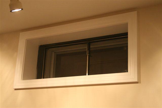 basement window frame paint painting diy chatroom