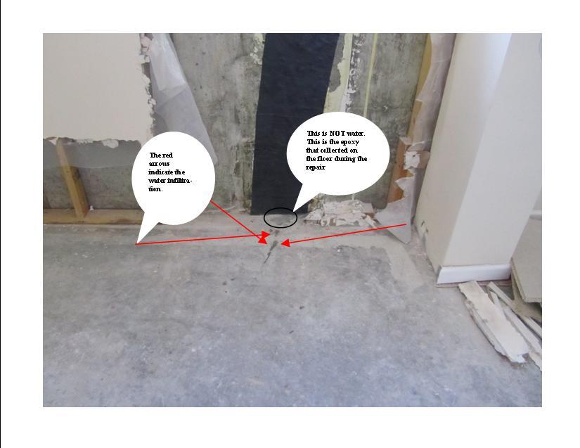 29839d1297788203 basement floor leaking after wall repair basement1
