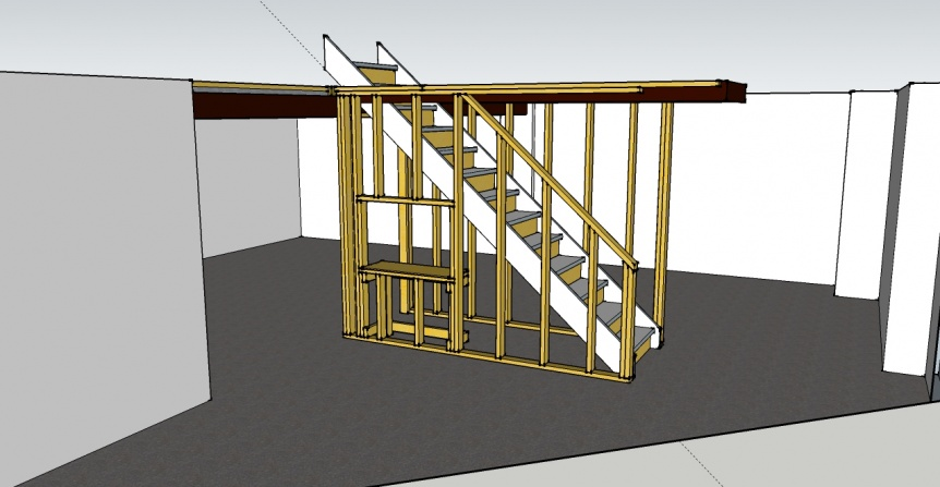 delightful how to build basement stairs Part - 2: delightful how to build basement stairs design ideas