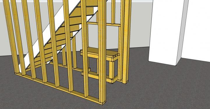 ... Basement Framing Around Stairs Basement4