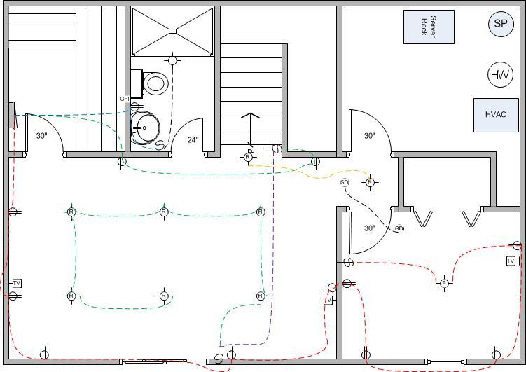 Basement Wiring Diagram: Basement Finish Wiring Diagram   Electrical   DIY Chatroom Home    ,