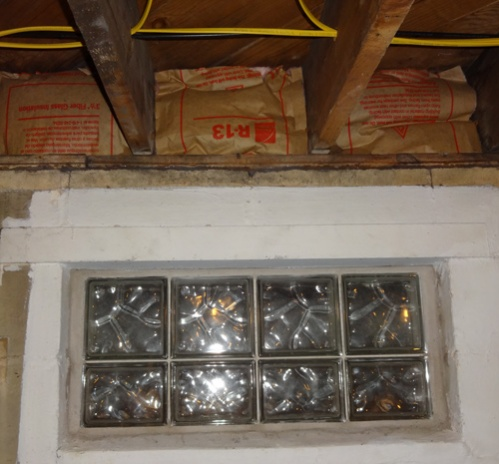 Walls open to outside above basement windows!-basementwindowinside.jpg