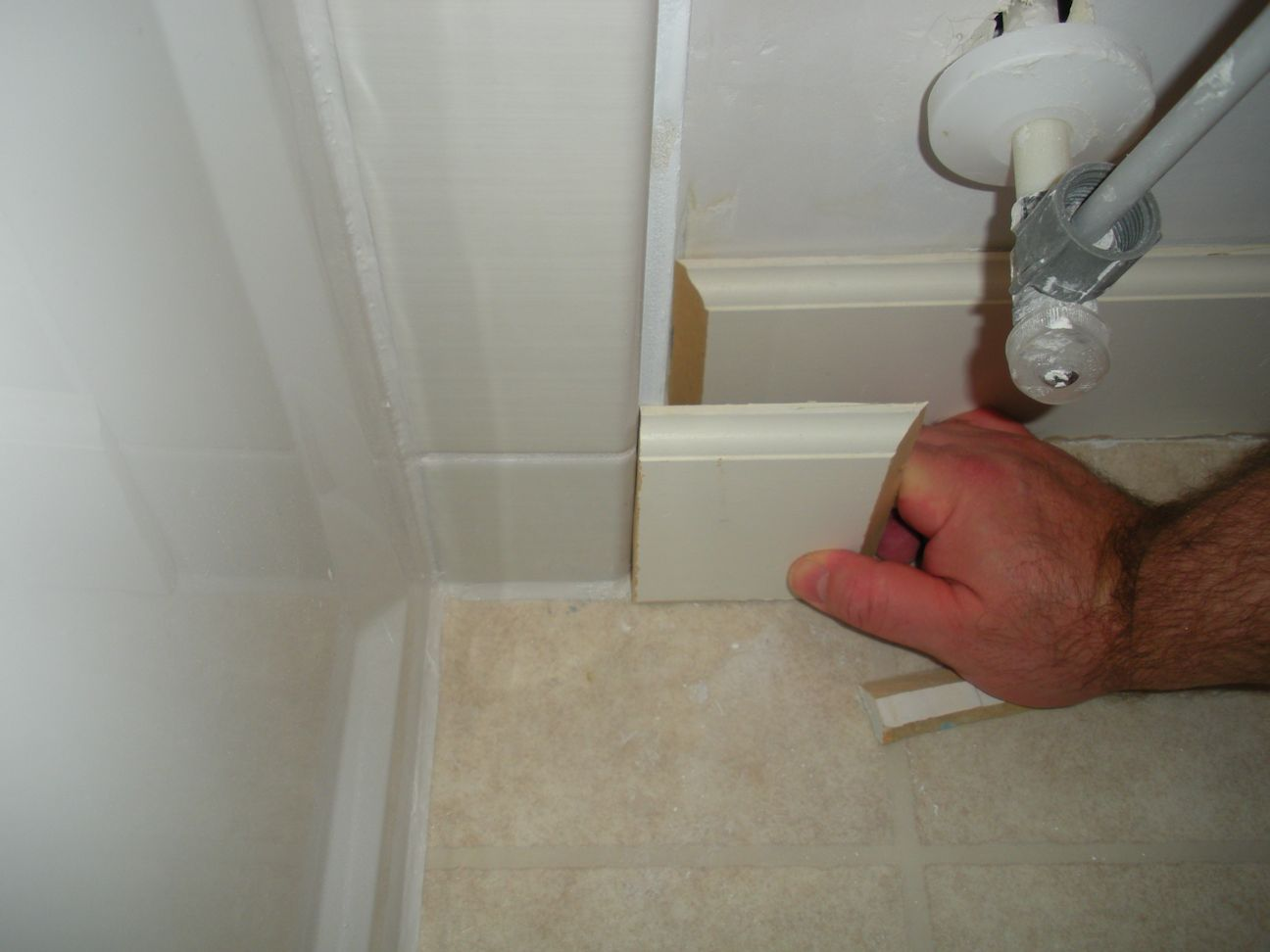 Wall Tile To Baseboard Transition? Bath Shower Project 060a ...