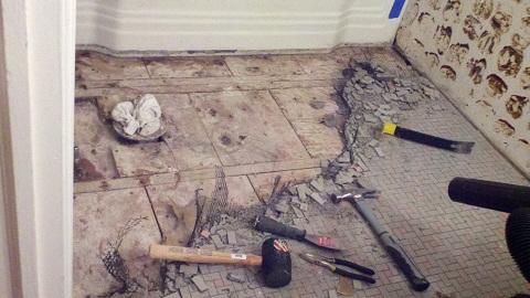 Bathroom Floor Preparation For Tiling Flooring DIY Chatroom Home