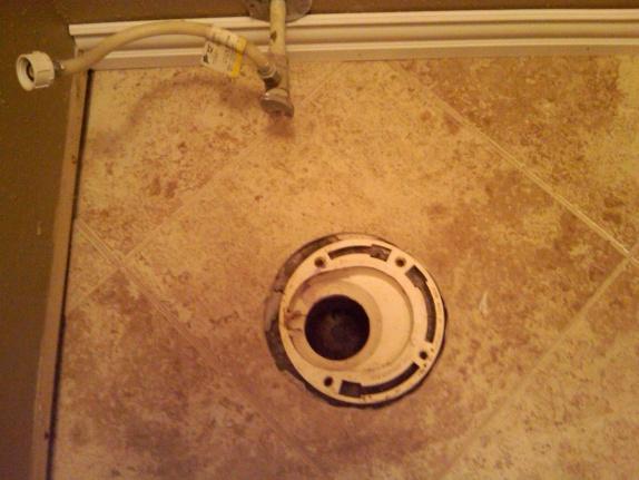 Toilet Flange Dilemma W Pics Plumbing Diy Home