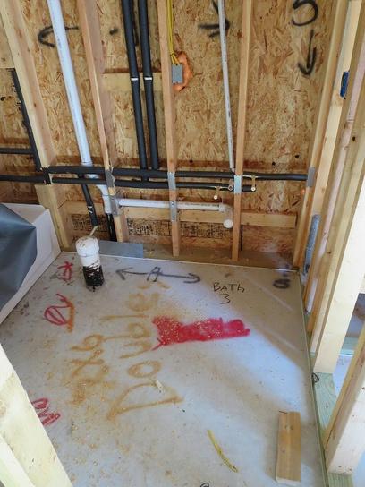 Tie In Water Softener Drain Into Bathroom Vent Stack Meets Code Plumbing Diy