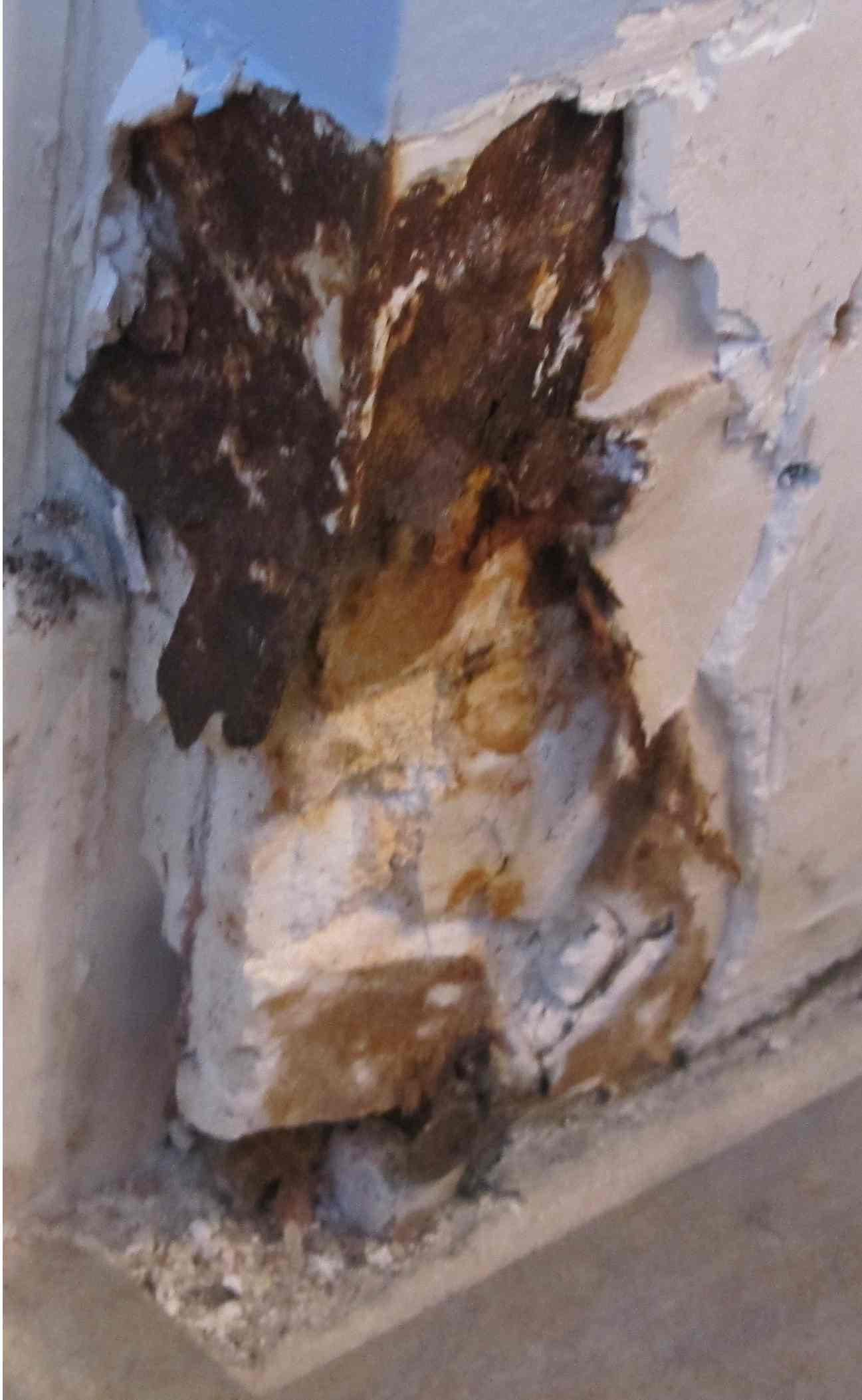 Repair Outside Corner Drywall In Bath Plaster